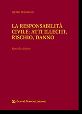 La Responsabilita' Civile: Atti Illeciti, Rischio, Danno